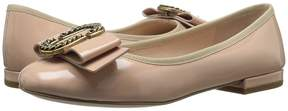 Marc Jacobs Interlock Round Toe Ballerina