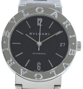 Bulgari BB33SSAUTO Stainless Steel Automatic 33mm Mens Watch