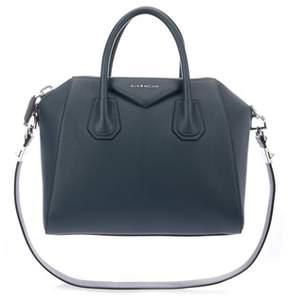 Givenchy Women's Blue Leather Handbag.