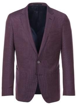 HUGO BOSS Men's Henton Slim Fit Sport Coat - Berry Red - 42R