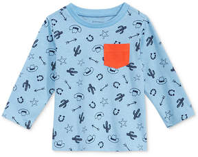 First Impressions Western-Print Cotton T-Shirt, Baby Boys (0-24 months), Created for Macy's