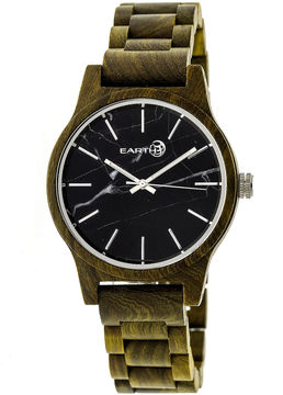 Earth Wood Tuckahoe Unisex Green Bracelet Watch-Ethew4804