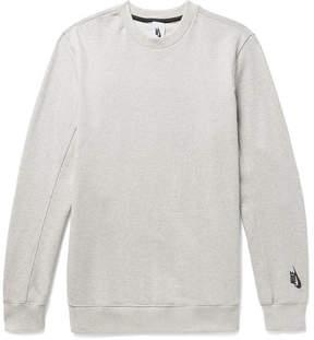 Nike Essentials Mélange Loopback Stretch Cotton-Jersey Sweatshirt