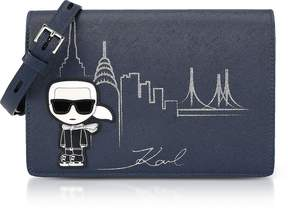 Karl Lagerfeld Midnight Blue NYC Shoulder Bag
