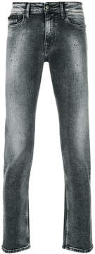CK Calvin Klein slim-fit washed jeans