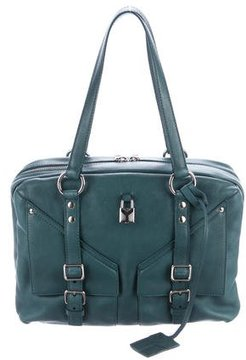 Saint Laurent Leather Lover Shoulder Bag - GREEN - STYLE