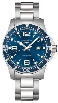 Longines HydroConquest Stainless Steel Bracelet Watch
