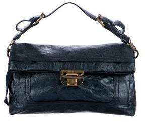 Nina Ricci Metallic Handle Bag