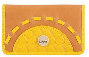 Lodis Women's Rodeo Woven Rfid Mini Card Case.