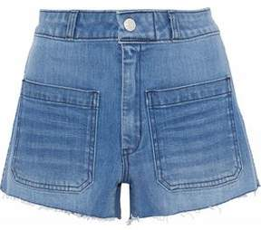 Amo Sailor Distressed Denim Shorts