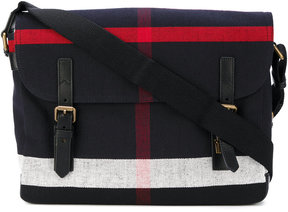 Burberry house check messenger bag