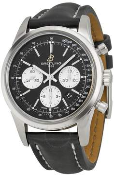 Breitling Transocean Chronograph Black Dial Men's Watch