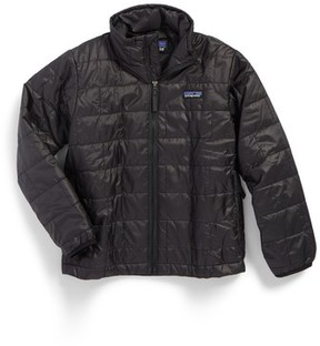 Patagonia Boy's Nano Puff Water Repellent Primaloft Insulated Jacket