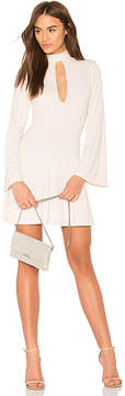 Susana Monaco Bell Sleeve Flare Dress
