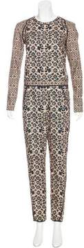 O'2nd Printed Layered Jumpsuit