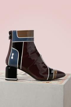 Pierre Hardy Varnished heel boots