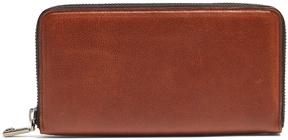 Brioni Zip-around leather wallet