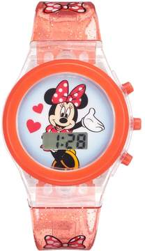 Disney Disney's Minnie Mouse Kids' Digital Light-Up Watch