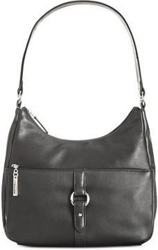 Giani Bernini Nappa Leather Ring Hobo, Created for Macy's