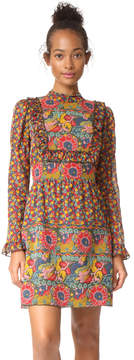 Anna Sui Lion Border Dress