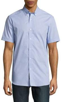 Report Collection Textured Cotton Shirt