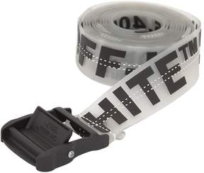 Off-White 35mm Long Printed Rubber Industrial Belt