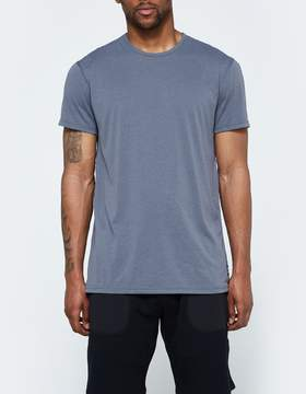 Reigning Champ SS Crewneck Tee - Powerdry Jersey in Charcoal