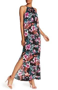 Bobeau B Collection by Civil Floral Print Maxi Dress