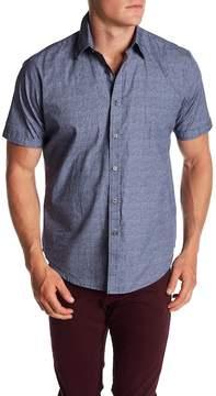 James Campbell Breville Woven Short Sleeve Shirt