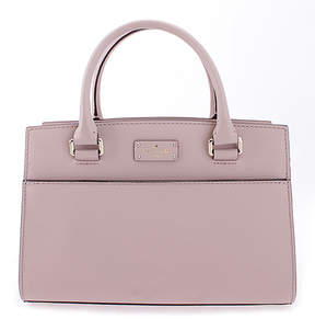 Kate Spade Almondine Small Caley Grove Streets Leather Satchel
