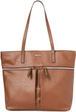 Nine West Bourbon Yuliana Zip Tote