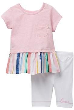ED Ellen Degeneres Love Top & Legging Set (Baby Girls)