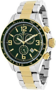 Oceanaut Baltica Mens Green Dial and Two-Tone Stainless Steel Watch