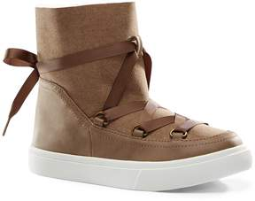 Lands' End Lands'end Girls Laced Booties
