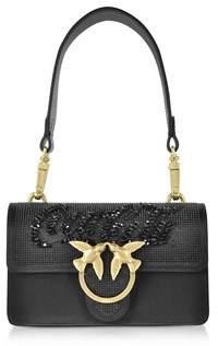 Pinko Women's Black Shoulder Bag.