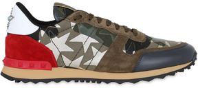 Rockrunner Camustars Leather Sneakers