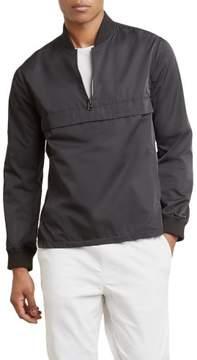 Kenneth Cole New York Half Zip Popover Jacket - Men's