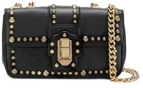 Dolce & Gabbana Dolce E Gabbana Women's Black Leather Shoulder Bag. - BLACK - STYLE