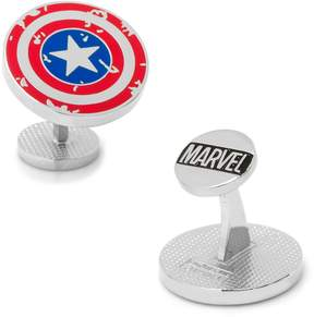 Marvel Captain America Distressed Shield Cuff Links