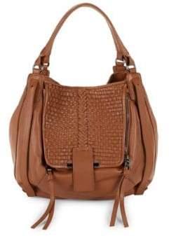 Kooba Basket Woven Leather Shopper Bag