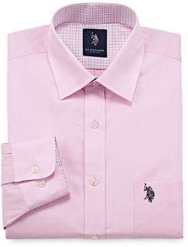 U.S. Polo Assn. USPA Long Sleeve Chambray Dress Shirt - Slim