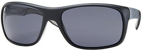 Safilo USA BOSS 0568 Polarized Rectangle Sunglasses