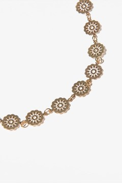 Dynamite Filigree Choker Necklace