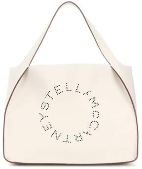 Stella McCartney Stella Logo faux leather tote