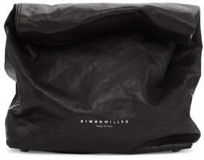 Simon Miller Black Lunch Bag 20 Clutch