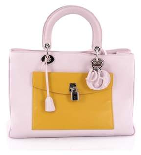 Christian Dior Pre-owned: Diorissimo Pocket Tote Leather Medium.