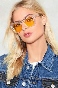Nasty Gal nastygal Any Shape or Form Angular Shades