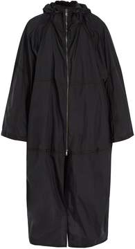 Jil Sander Oversized hooded technical jacket