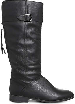 Office Kilter leather boots