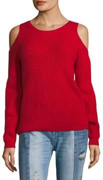 Armani Exchange Women's Slit Sleeve Sweater